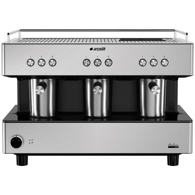 Arcelik K 3700 Telve Pro Automatic Turkish Coffee Machine - Inox - Arcelik - Pazarska