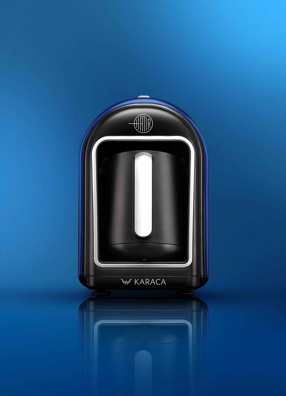Karaca Hatir Automatic Turkish Coffee Machine - Blue - Karaca - Pazarska