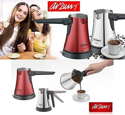 Arzum Mirra Electric Turkish Coffee Maker AR3010 - Coral - Arzum - Pazarska