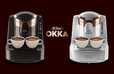 Arzum OKKA Full Automatic Turkish Coffee Machine OK002 Chrome Black - Arzum - Pazarska