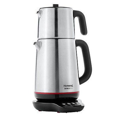 Homend Royaltea 1708 Talking Electric Tea Maker - Homend - Pazarska