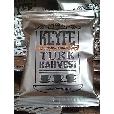 Keyfe Fine Ground Turkish Coffee (Greek Coffee) - 100g - Keyfe - Pazarska