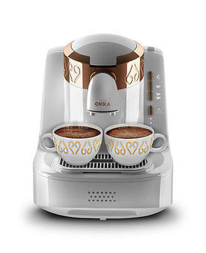 Arzum OKKA Full Automatic Turkish Coffee Machine OK001 White - Arzum - Pazarska