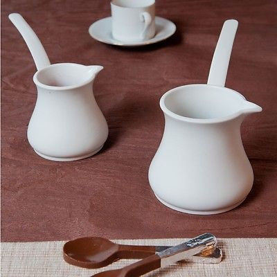 Kutahya Porselen Porflame Porcelain Turkish Coffee Pot Set - Kutahya Porcelain - Pazarska