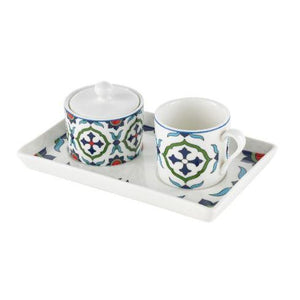 Pasabahce Tile Turkish Coffee Cup Set - Pasabahce - Pazarska