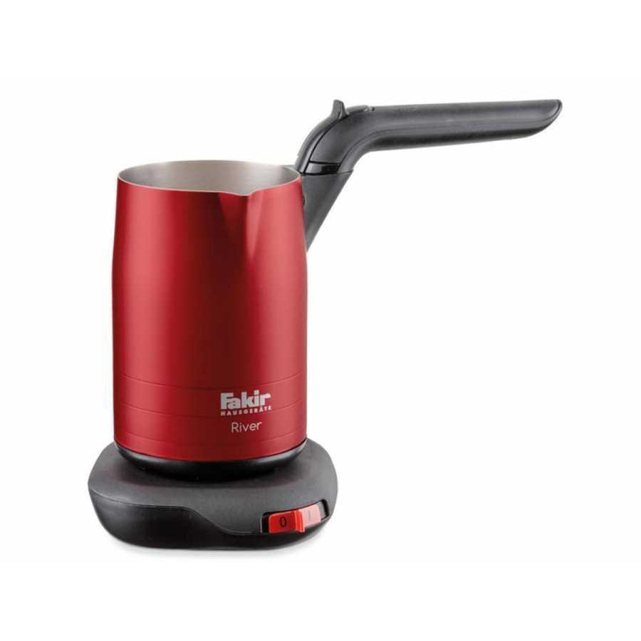 Fakir River Turkish Coffee Maker - Foldable Handle - Red - Fakir - Pazarska