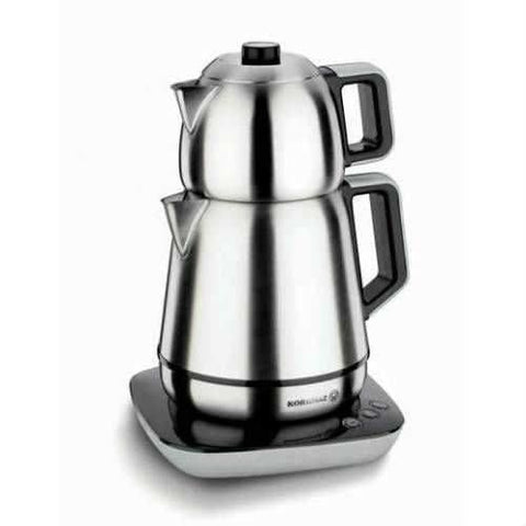 Korkmaz A354 Demiks Satin Electric Tea Maker - Korkmaz - Pazarska