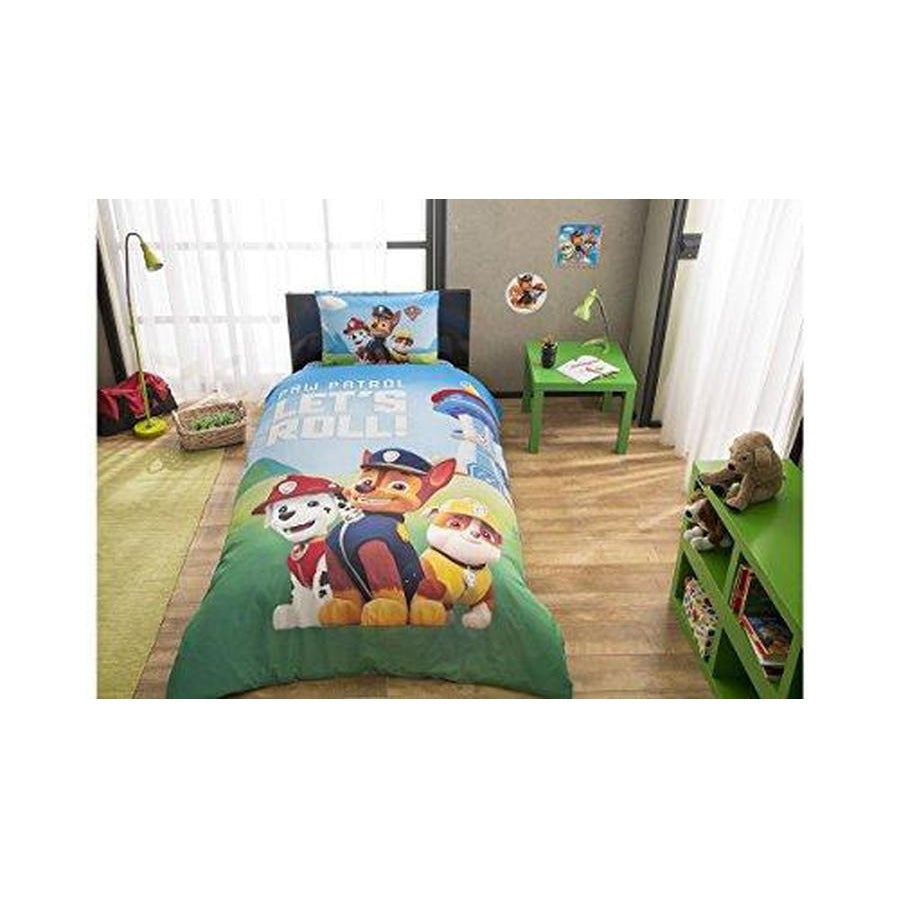 TAC Paw Patrol Twin / Single Size Bedding Set - 3 Pcs