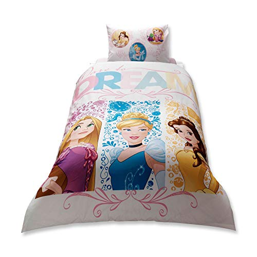 Disney Princess Dream Girl's Bedding Set Duvelt/Quilt Cover Set Single/Twin Size