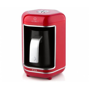 King K 605 Kismet Automatic Turkish Coffee Maker – Red - King - Pazarska
