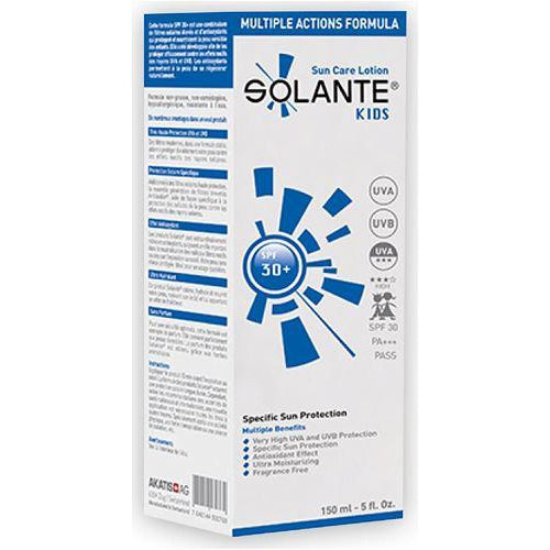 Solante Kids Sun Care Lotion Spf 30 150 ml Sun Cream for Kids - Solante - Pazarska