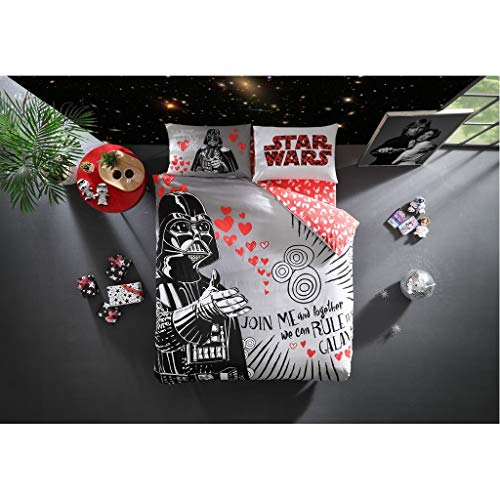TAC Star Wars Double / Queen Size Bedding Set - 4 pcs