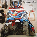 Superman Stone Children's Bedding Set Single/Twin for Kids