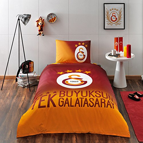 TAC Galatasaray 100% Cotton Bedding Set