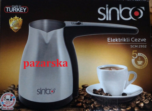 Sinbo SCM-2932 Turkish Coffee Maker - Sinbo - Pazarska