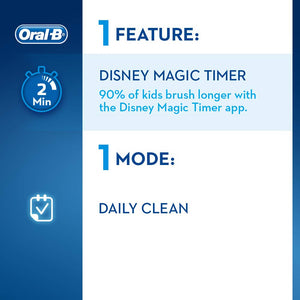 Oral-B Stages Power Kids Electric Rechargeable Toothbrush Featuring Star Wars Characters, 1 Handle, 1 Brush Head, UK 2 Pin Plug for Ages 3+ (Packaging May Vary) - Oral-B - Pazarska