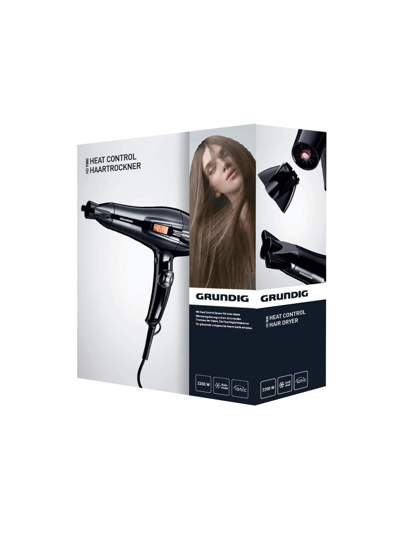 Grundig HD9880 Hair Dryer - GRUNDIG - Pazarska