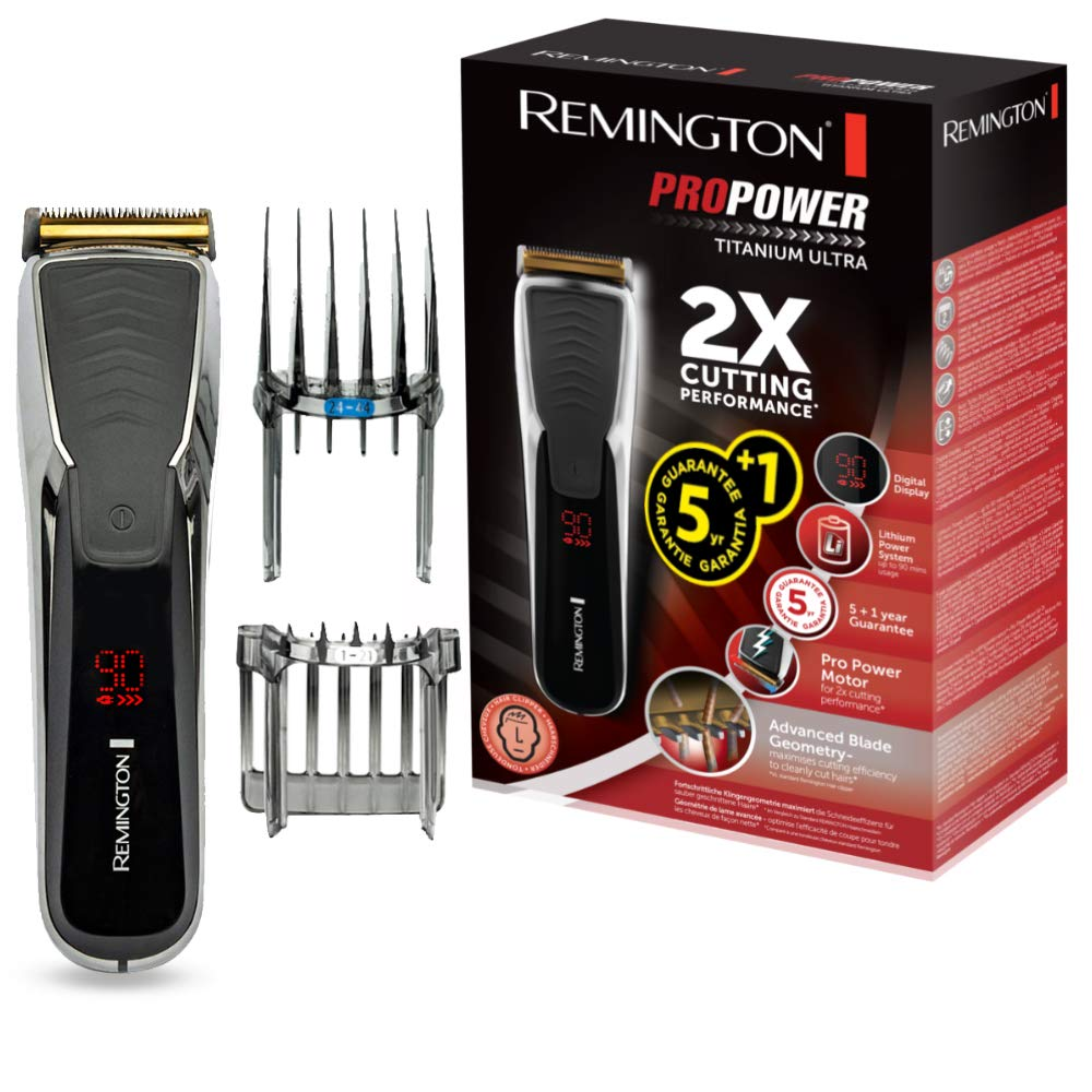 Remington HC10 ProPower Titanium Ultra Hair Clipper