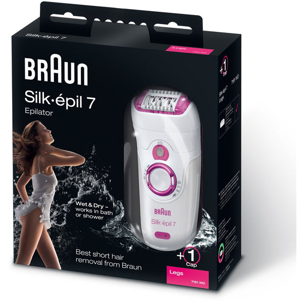 Braun Silk Epil 7181 Wet and Dry Epilator - Braun - Pazarska
