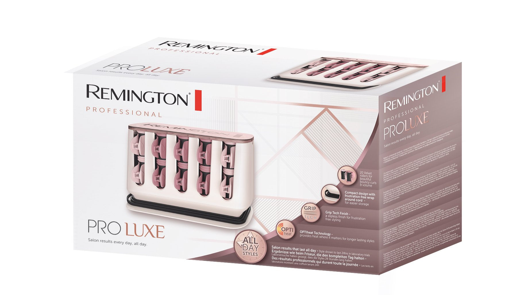 Remington H9100 Proluxe Heated Rollers Hair Stylers - Remington - Pazarska