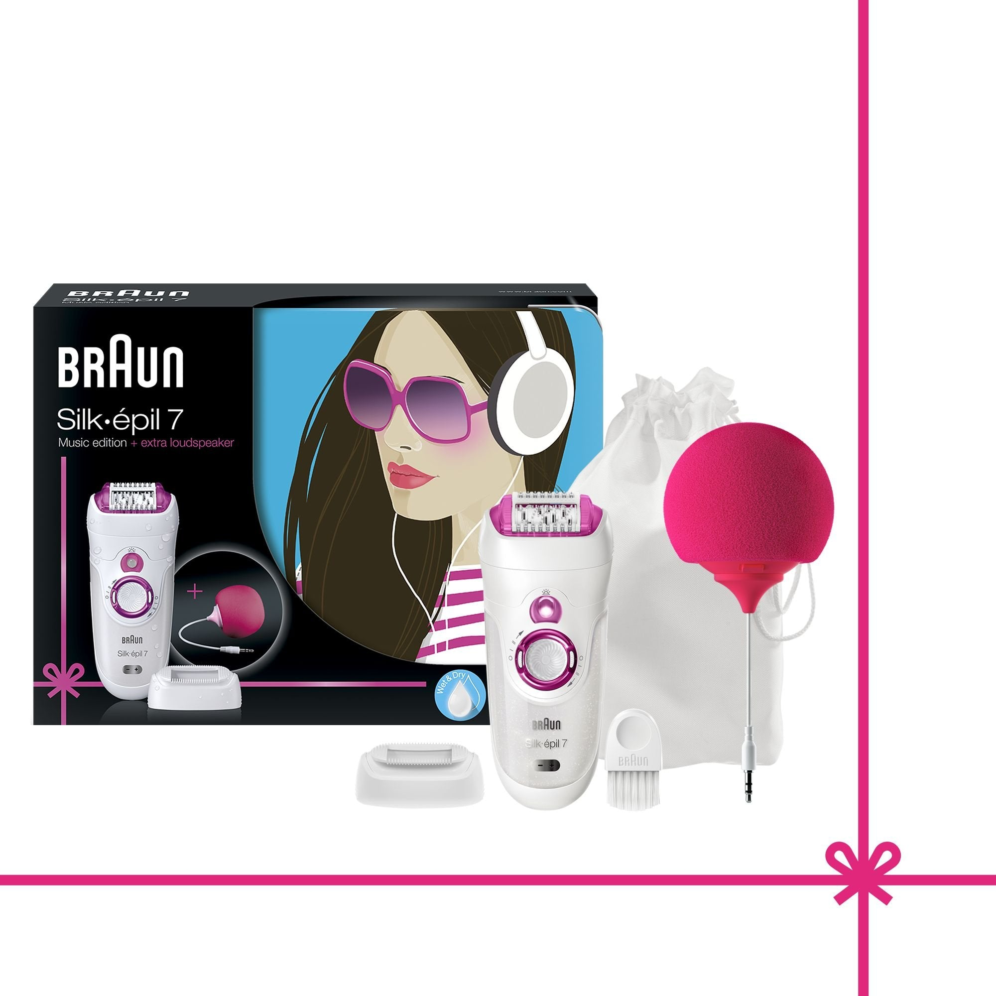 Braun Silk Epil 7-527 Wet and Dry Epilator - Braun - Pazarska