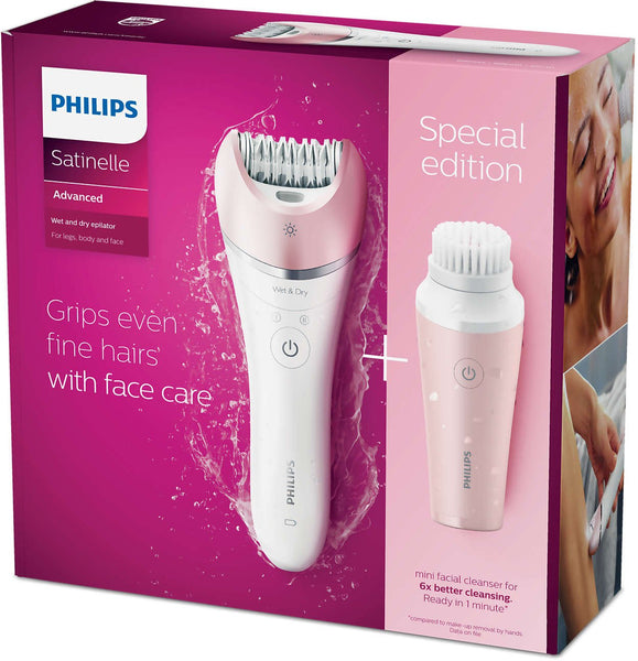Philips BRP545/00 Satinelle Advanced Cordless Wet & Dry Epilator - Philips - Pazarska