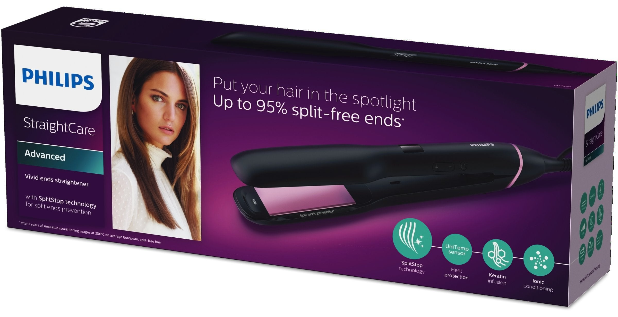 Philips BHS674/00 Hair Straightener - Philips - Pazarska