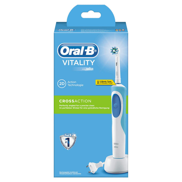 Oral-B Vitality Cross Action Rechargeable Toothbrush - Oral-B - Pazarska