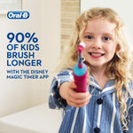 Oral-B Disney Princess Stages Power Kids Electric Rechargeable Toothbrush - Oral-B - Pazarska