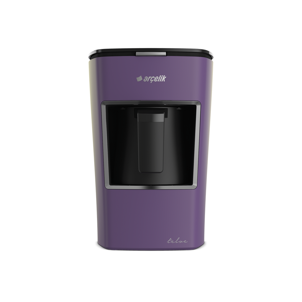 Arcelik Telve Automatic Turkish Coffee Machine K3300 - Purple - Arcelik - Pazarska