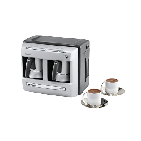 Arcelik K3190 Telve Automatic Turkish Coffee Machine - Double Pot - Arcelik - Pazarska