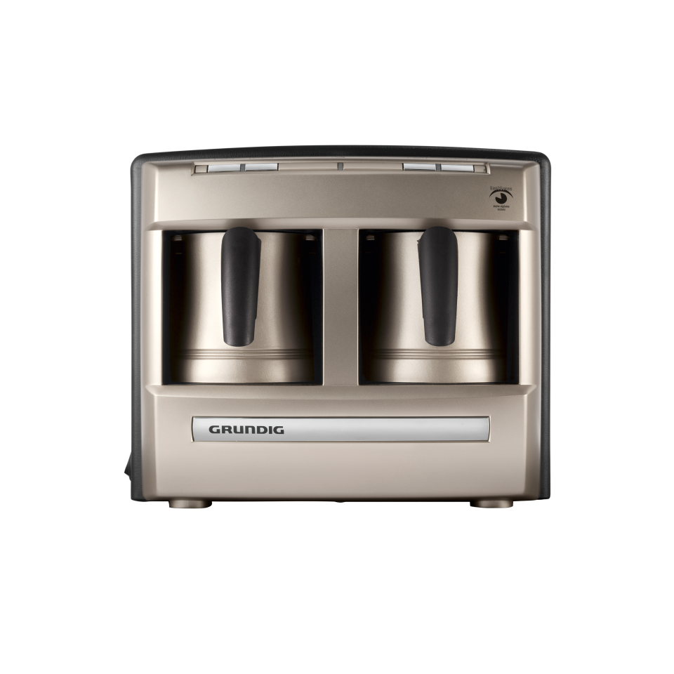 Grundig TCM 6730 C Cream Gold Automatic Turkish Coffee Machine - Grundig - Pazarska