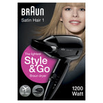 Braun Satin Hair 1 HD 130 Style and Go Hair Dryer - Braun - Pazarska
