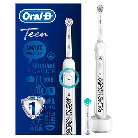 Oral-B Teen White Rechargeable Electric Toothbrush - Oral-B - Pazarska