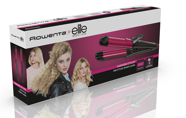 Rowenta CF4512 Fashion Stylist 3 in 1 Multistyler - Rowenta - Pazarska