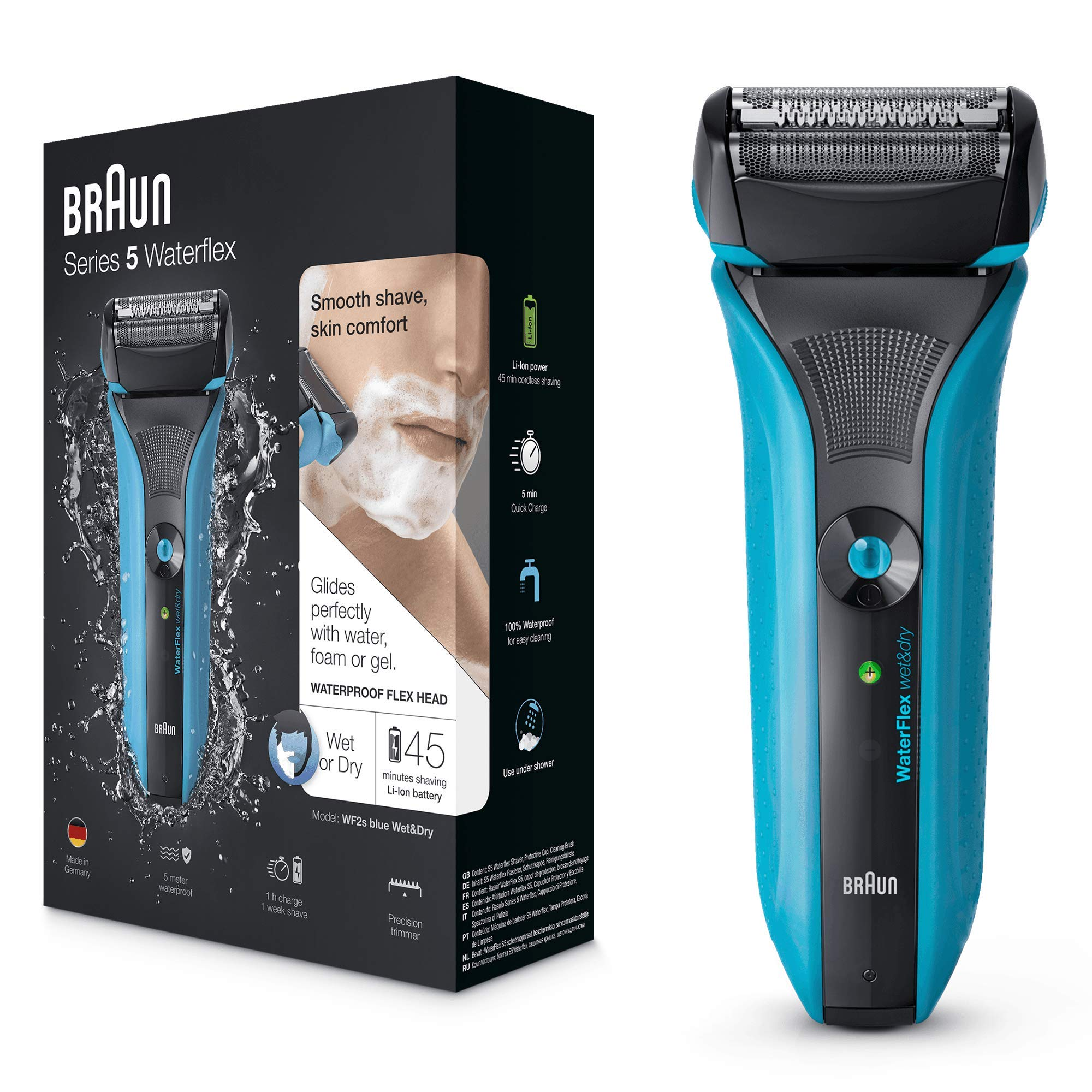 Braun Waterflex WF2S Wet and Dry Electric Shaver - Braun - Pazarska