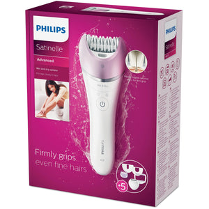 Philips BRE632/00 Satinelle Advanced Wet and Dry Epilator - GALIANO - Pazarska