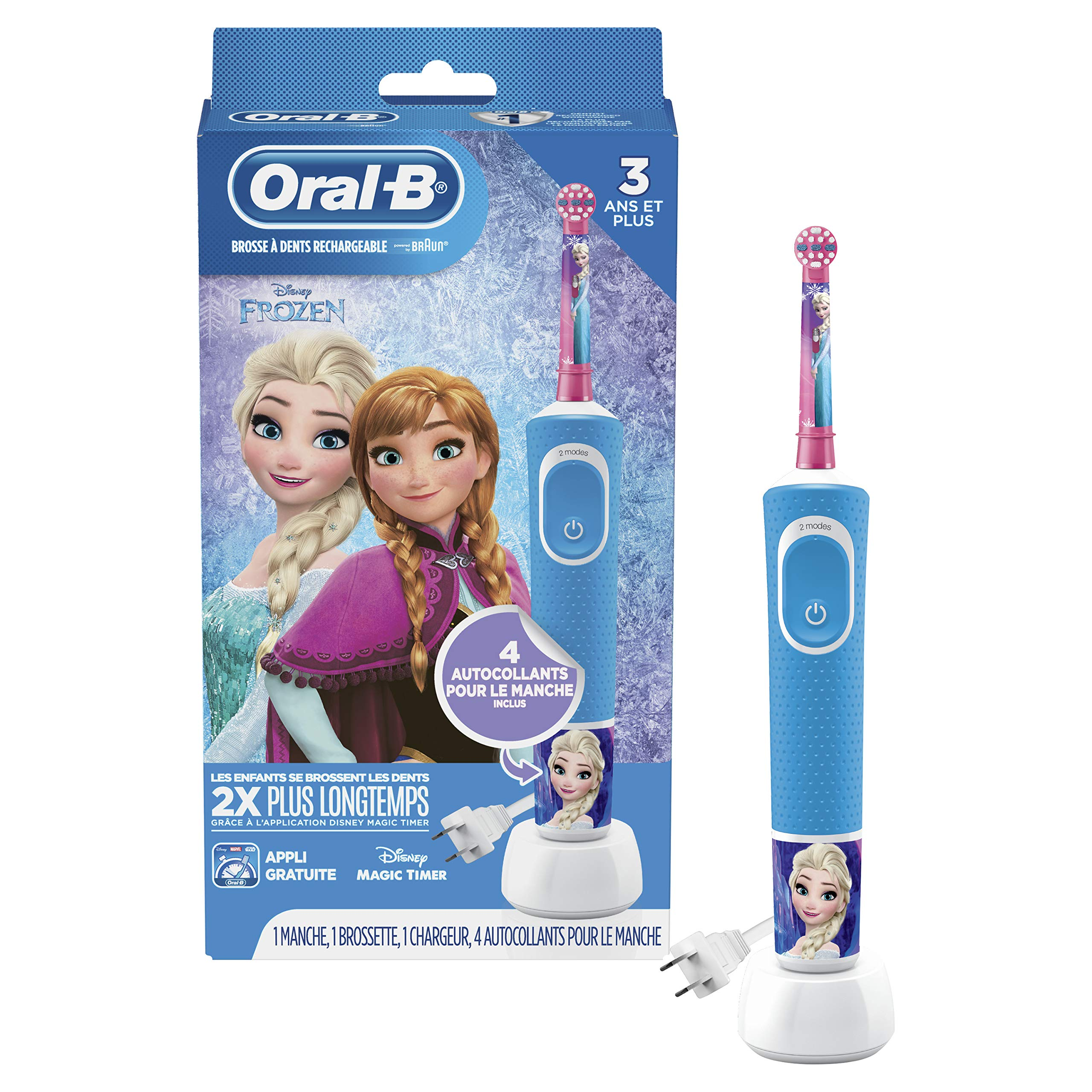 Oral-B Kids Electric Toothbrush Frozen - Oral-B - Pazarska