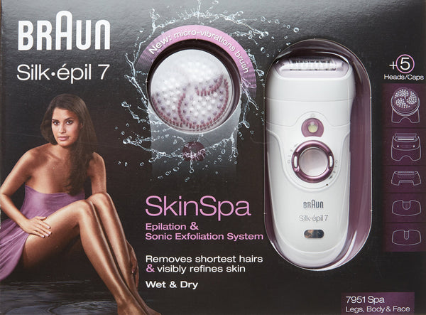 Braun Silk Epil 7 Skin Spa Wet and Dry Cordless Epilator - Braun - Pazarska