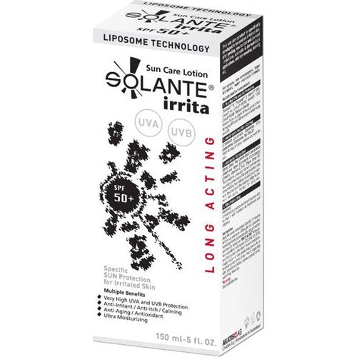 Solante Irrita Sun Care Lotion Spf 50+ 150 ml Sun Cream for Gentle Skins - Solante - Pazarska