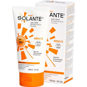 Solante Gold Sun Care Lotion Spf 50+ 150 ml Sun Cream for Adults - Solante - Pazarska