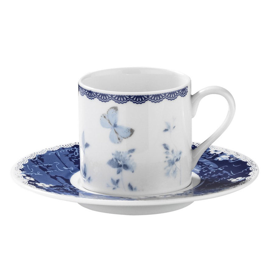 Kutahya Porcelain Dream 9742 Pattern Turkish Coffee Cup Set - Kutahya Porcelain - Pazarska