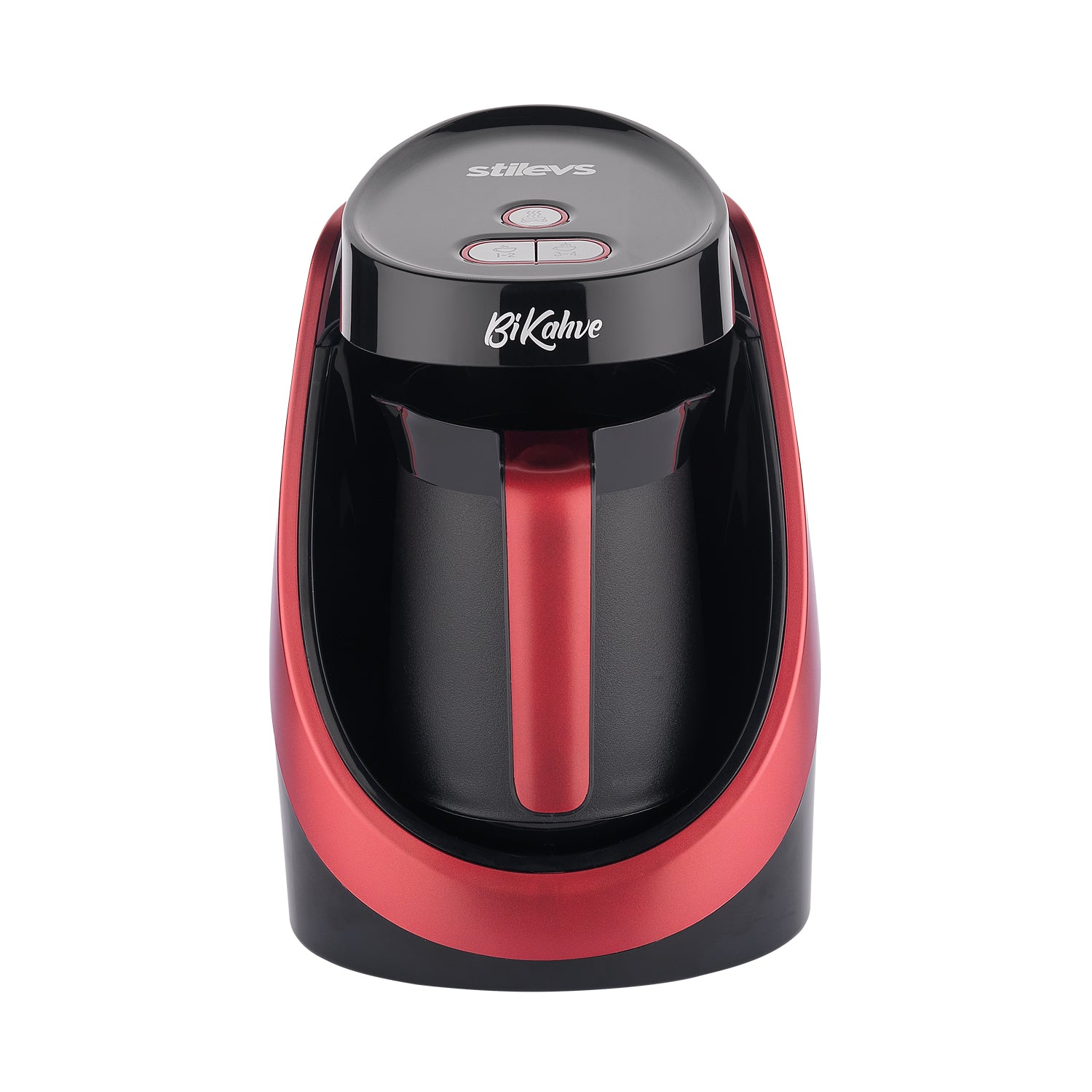 Stilevs Bikahve Automatic Turkish Coffee Machine - Cherry