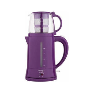 King Teamax Electric Tea Maker-Purple - King - Pazarska