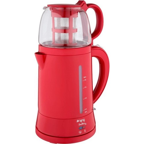 King Teamax Electric Tea Maker-Red - King - Pazarska