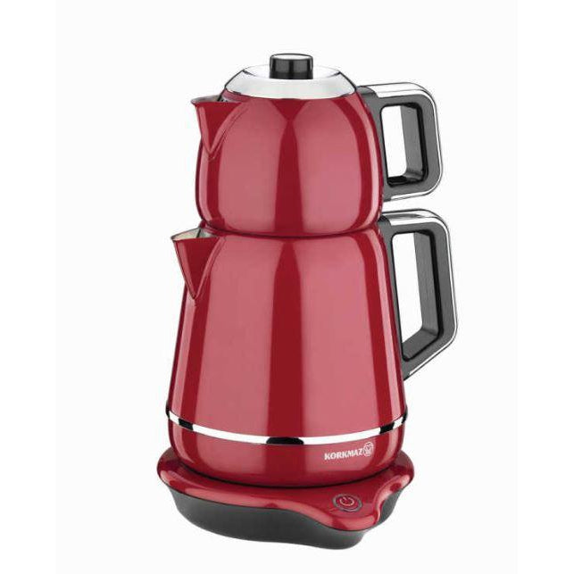 Korkmaz A354 Demiks Electric Tea Maker Red - Korkmaz - Pazarska