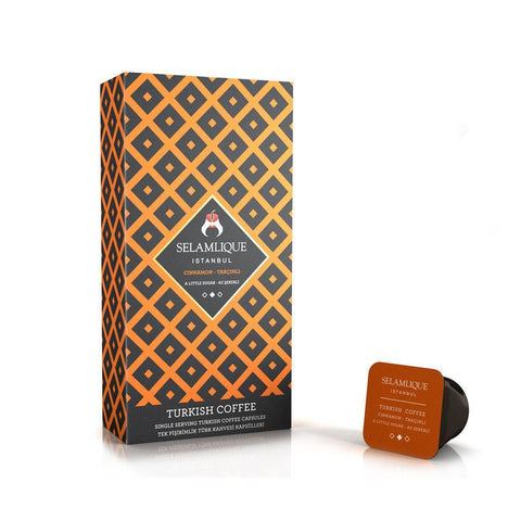 Selamlique Cinnamon Turkish Coffee Capsules - Selamlique - Pazarska