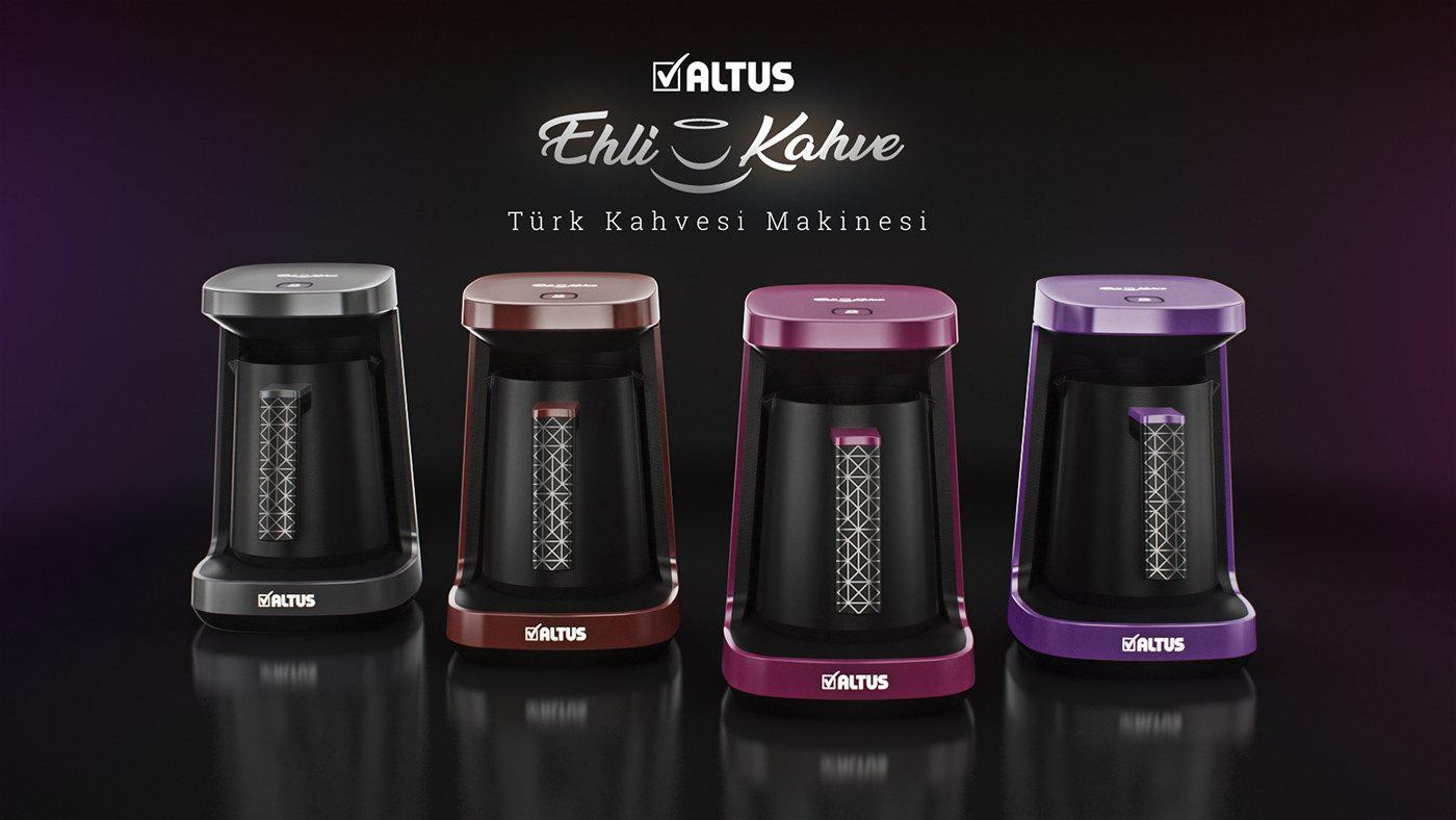 Altus AL 797 M Ehli Kahve Automatic Turkish Coffee Machine Purple by Arcelik - Altus - Pazarska