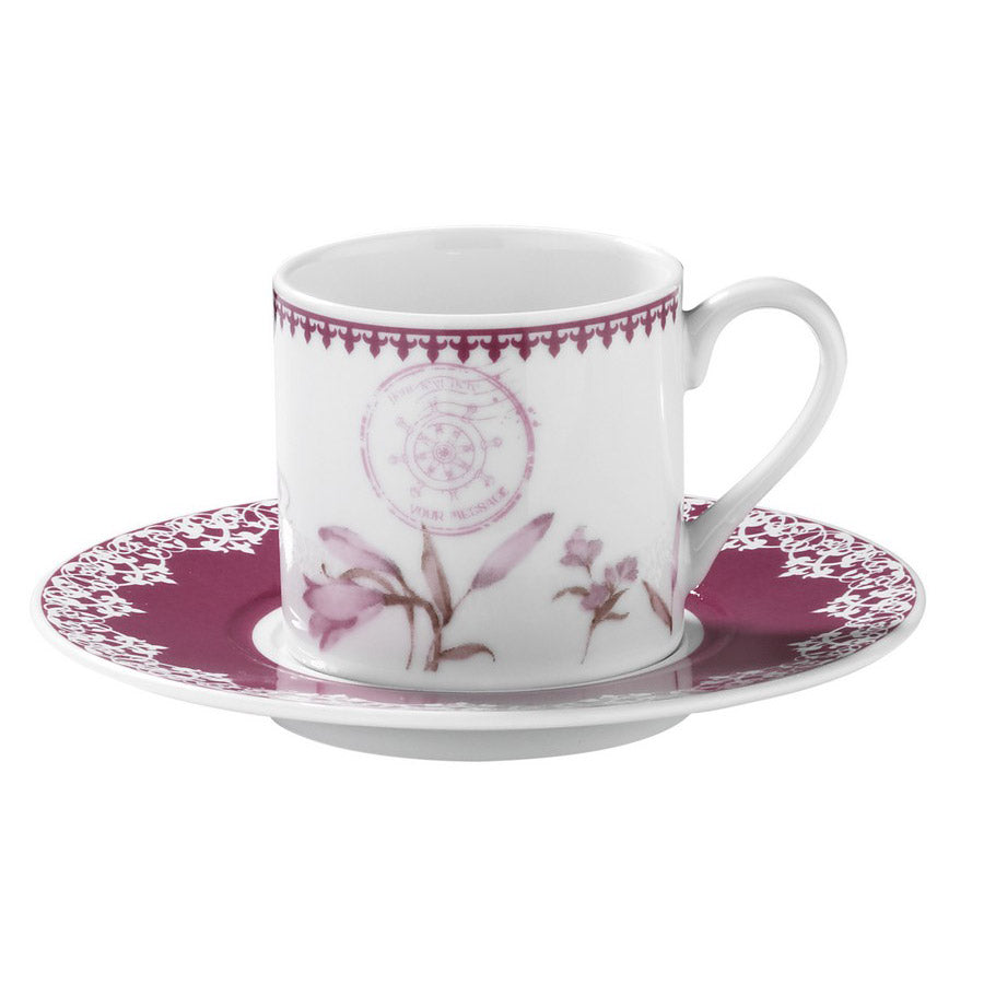 Kutahya Porcelain Dream 9743 Pattern Turkish Coffee Cup Set - Kutahya Porcelain - Pazarska