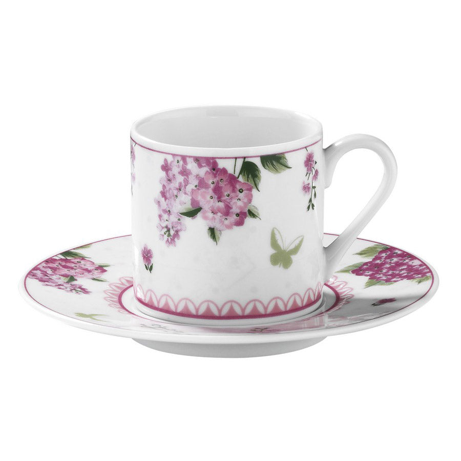 Kutahya Porcelain Dream 9746 Pattern Turkish Coffee Cup Set - Kutahya Porcelain - Pazarska